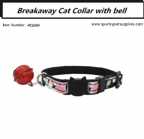 Japanese Style Breakaway Cat Collar Black